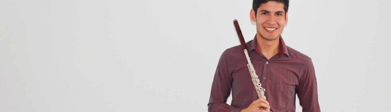 NIKOLÁS RODRÍGUEZ ORJUELA, flauta traversa