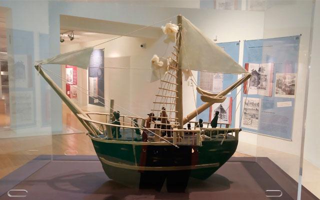 Barco de la exposición La Marie-Séraphique