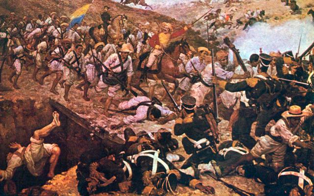 Batalla de Boyacá en la guerra de Independencia de Colombia
