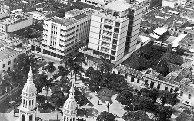 Fotografía antigua de Bucaramanga