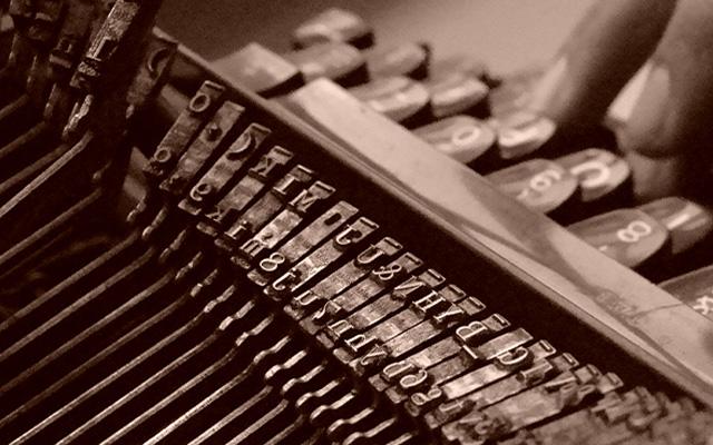 Escritura-máquina de escribir