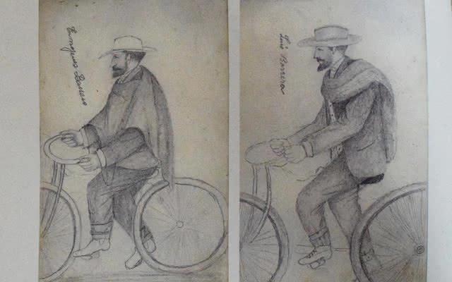 Libretas de apuntes-bicicleta