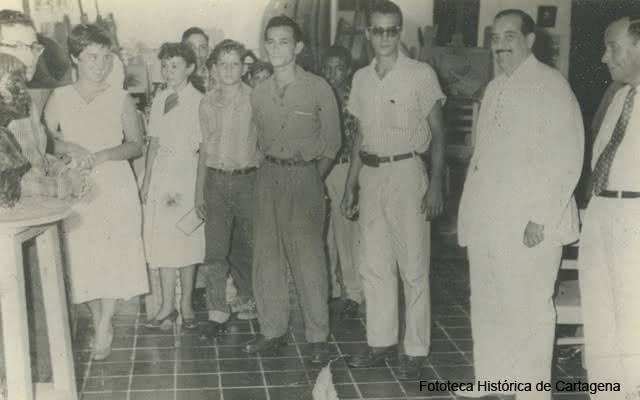 fotografia de reunión en cartagena