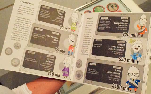 Taller monedas y billetes