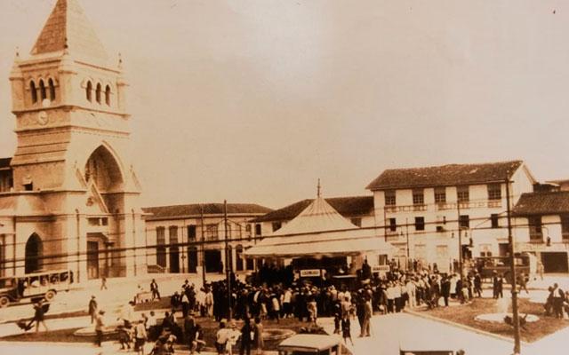 Plaza de Bolivar de Armenia, 1925