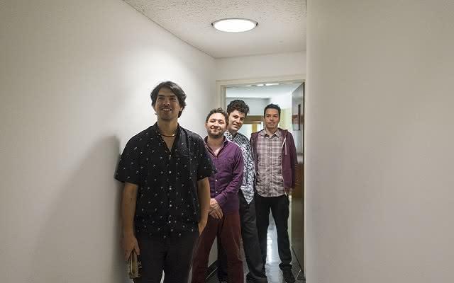 Concierto de Ricardo Gallo Cuarteto realizado en la Sala de Conciertos de la Biblioteca Luis Ángel Arango el domingo 22 de abril de 2018.