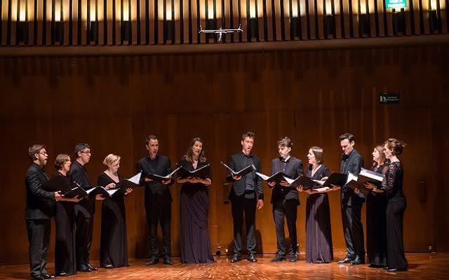 Concierto de Stile Antico realizado en la Sala de Conciertos de la Biblioteca Luis Ángel Arango el domingo 15 de abril de 2018.