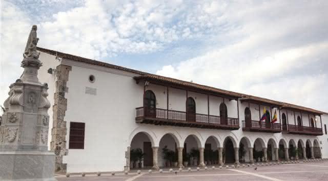 Casa de la Real Aduana de Cartagena - Alcaldía Distrital.