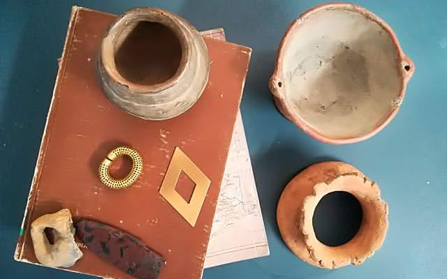 Elementos del Museo del Oro Calima