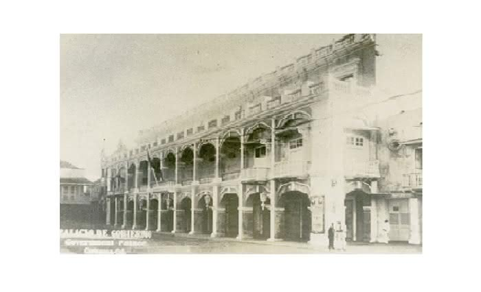 Casa del Cabildo – Palacio de la Proclamación (P. Gómez Isaacs, 1934). Cortesía de la Fototeca Histórica de Cartagena / UTB.