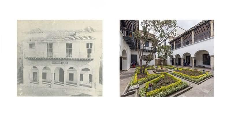 Casa de Contratación o Casa de la Isla (L. F. Jaspe, 1915?). Cortesía de la Fototeca Histórica de Cartagena / UTB. y Casa de la Moneda de Santa Fe.