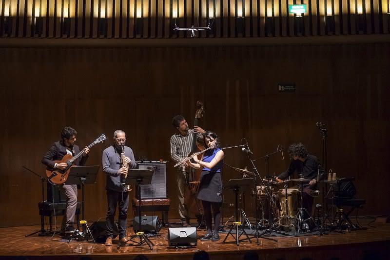 Concierto de Anamaría Oramas Jazz Cuarteto realizado el jueves 26 de abril en la Sala de Conciertos de la Biblioteca Luis Ángel Arango como parte de la Serie de los Jóvenes Intérpretes.