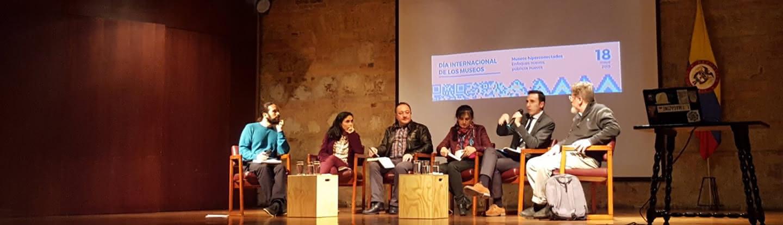 Panel sobre museos e hiperconectividad.