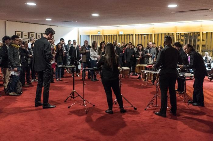 Concierto La música de Pedro Sarmiento ofrecido el miércoles 8 de noviembre de 2017 en la Sala de Conciertos de la Biblioteca Luis Ángel Arango en el marco de la serie Retratos de un compositor de la Temporada Nacional de Conciertos