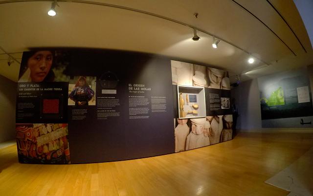 Imagen de la exposición Molas en Cali
