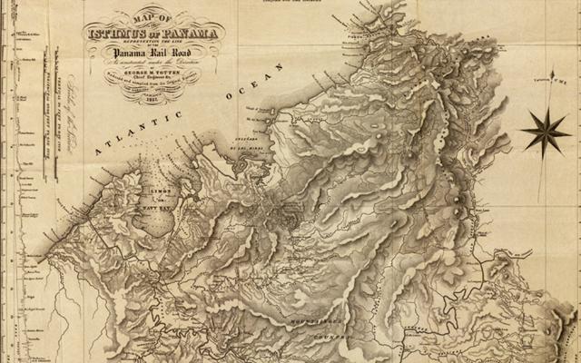 Mapa del libro Atlas Histórico Marítimo de Colombia Siglo XIX