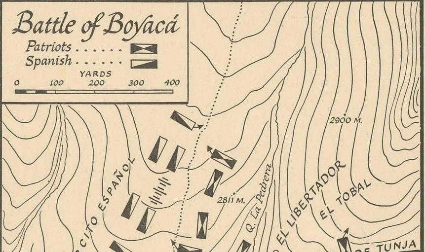 Battle of Boyacá: Campañas libertadoras