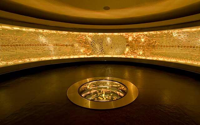 Sala de la Ofrenda en el Museo del Oro
