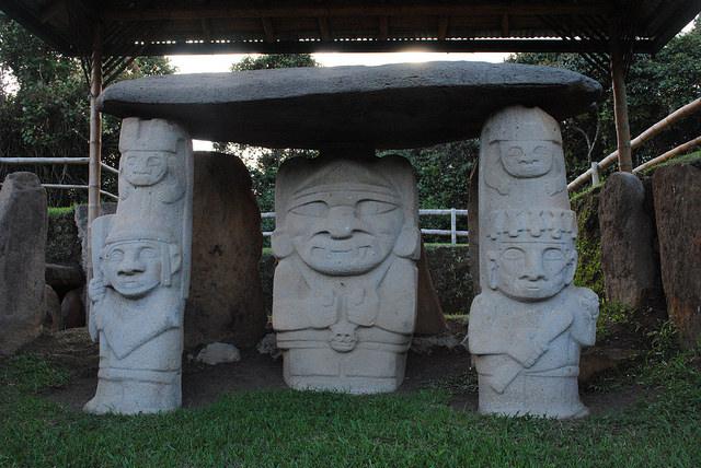 Esculturas de San Agustín